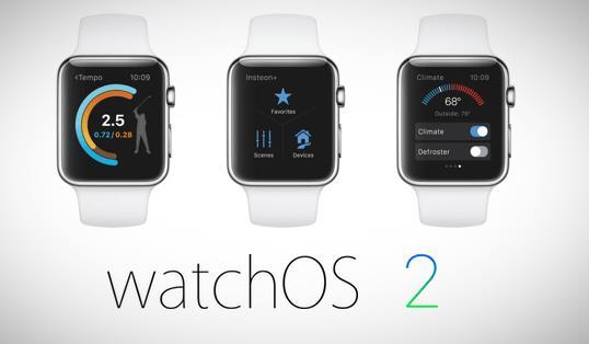 Новые функции watch OS 2 beta 5