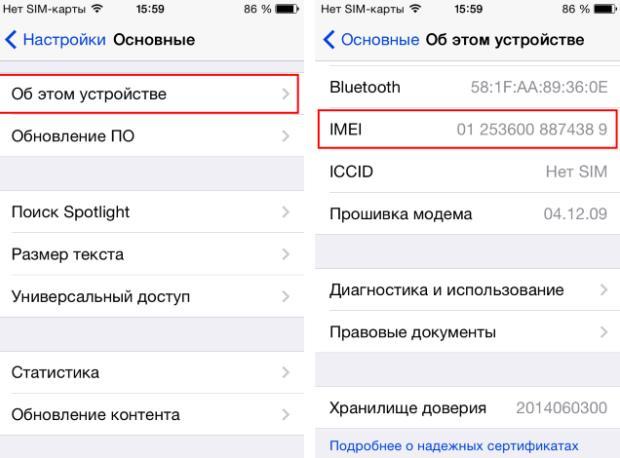 Как узнать залочен ли iPhone-1