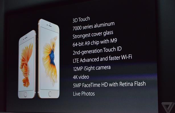 Анонсирован iPhone 6s и iPhone 6s Plus. Обзор, технические характеристики-9