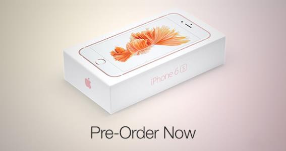 Стартует предзаказ iPhone 6S, iPhone 6s Plus