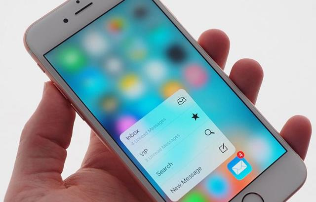 Реальные возможности модуля 3D Touch флагмана линейки iPhone 6S-2