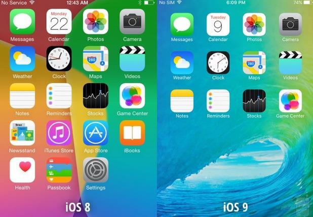 Список изменений iOS 9-11