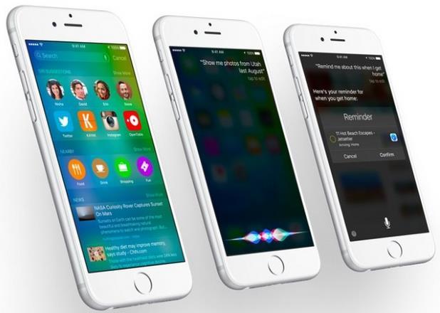 Список изменений iOS 9-3