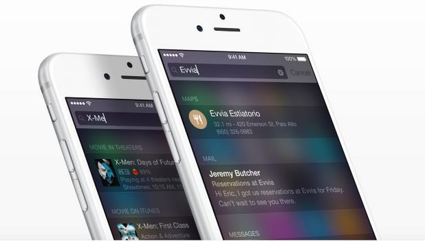 Список изменений iOS 9-4