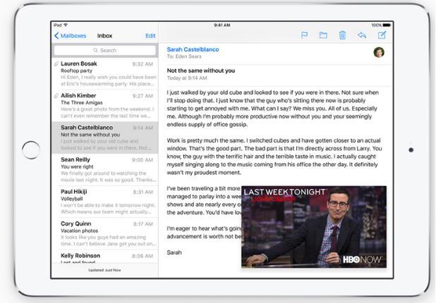 Список изменений iOS 9-8