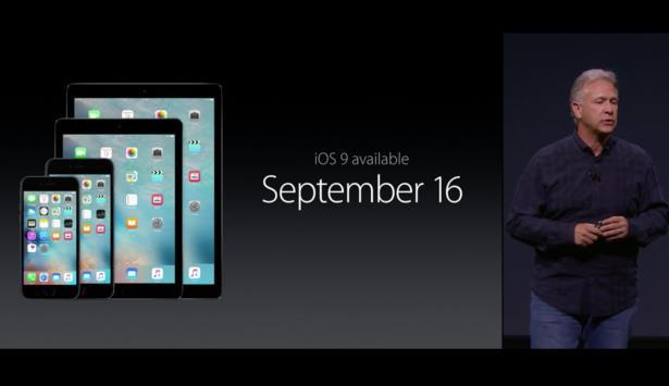 iOS 9 выйдет 16 сентября, новые iPhone — 25-го
