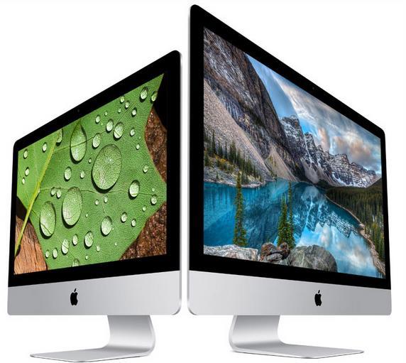 Официально представлены Apple iMac с революционными экранами Retina технологий 4K и 5K-1