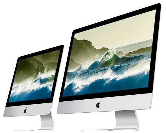 Официально представлены Apple iMac с революционными экранами Retina технологий 4K и 5K